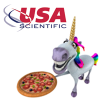 USA Scientific Pizza Promotion